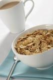 Frühstückskost aus Getreide und Kaffee Stockfotografie