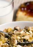Frühstückskost aus Getreide und Toast 2 Stockfotos