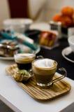 Frühstücksmoment Italien Stockfoto