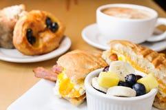 Frühstücksnahrung Stockbild