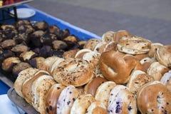 Frühstücksnahrungs-Buffet Stockfoto