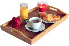 Frühstückszeit für einzelnes Stockfoto