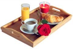 Frühstückszeit für einzelnes Lizenzfreie Stockfotos