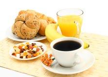 Frühstückszene lizenzfreie stockfotografie