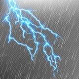 för blixtphotoshop för bakgrund svart skapat isolerat slag Regnmall med exponeringen 10 eps Arkivbilder