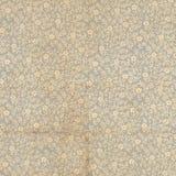 För bokslut för antik tappning blom- papper Arkivfoton