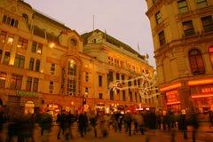 för cirkus turister 2010 piccadilly Royaltyfri Bild