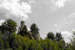 Frýdštejn castle Stock Images