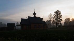 by för dal för livstidsliljamorgon fortfarande Arkivbilder