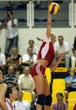 för fivbtekniker s för mästerskap tjeckiska kvinnor för volleyboll Royaltyfri Foto