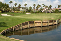 för florida för 5 kurs green golf Royaltyfria Bilder