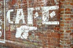 för ft-smed för tegelsten i stadens centrum vägg Royaltyfri Foto