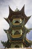 för gansu för porslin kinesisk stil för landskap moské Fotografering för Bildbyråer