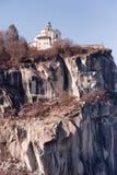 för landmarkmadonna för del berömd italiensk sasso Arkivfoto