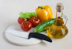 för mat sunda för livstid grönsaker fortfarande Royaltyfri Fotografi