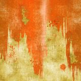 För stekflotttextur för Grunge röd bakgrund Royaltyfria Bilder