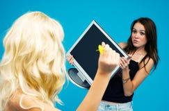 för universitetslärare kast var god t Fotografering för Bildbyråer