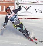 FRA: Alpiene het ski?en Val D'Isere GS van mensen Royalty-vrije Stock Fotografie