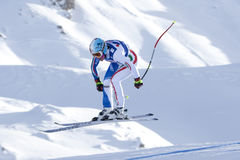 FRA: Alpine skiing Val D'Isere downhill Stock Photos