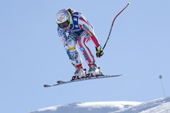 FRA: Alpine skiing Val D'Isere downhill Royalty Free Stock Image