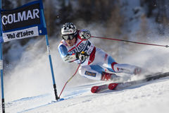 FRA: Alpine skiing Val D'Isere men's GS Royalty Free Stock Image