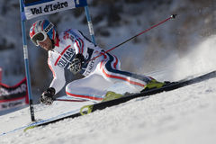 FRA: Alpine skiing Val D'Isere men's GS Stock Photography