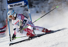 FRA: Alpine skiing Val D'Isere men's GS Stock Image