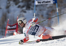 FRA: Alpine skiing Val D'Isere men's GS Royalty Free Stock Images