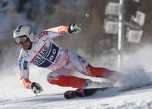 FRA: Alpine skiing Val D'Isere men's GS Stock Photo