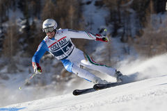 FRA: Alpine skiing Val D'Isere men's GS Royalty Free Stock Photography