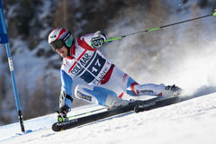 FRA: Alpine skiing Val D'Isere men's GS Royalty Free Stock Photos