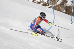 FRA: Alpine skiing Val D'Isere men's slalom Royalty Free Stock Image
