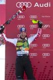 FRA: Alpine skiing Val D'Isere men's slalom Royalty Free Stock Photo