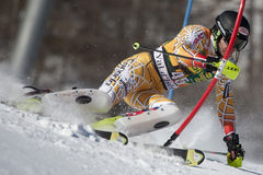FRA: Alpine skiing Val D'Isere men's slalom Royalty Free Stock Photography