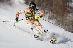 FRA: Alpine skiing Val D'Isere men's slalom Stock Image
