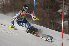FRA: Alpine skiing Val D'Isere men's slalom Royalty Free Stock Photography