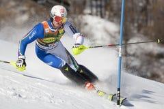 FRA: Alpine skiing Val D'Isere men's slalom Stock Photo