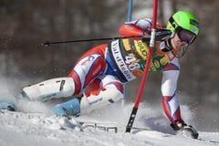 FRA: Alpine skiing Val D'Isere men's slalom Royalty Free Stock Images