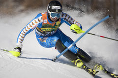 FRA: Alpine skiing Val D'Isere men's slalom Royalty Free Stock Image