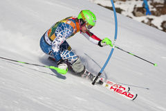 FRA: Alpine skiing Val D'Isere men's slalom Royalty Free Stock Photo