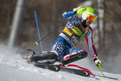 FRA: Alpine skiing Val D'Isere men's slalom Stock Photography