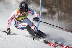 FRA: Alpine skiing Val D'Isere men's slalom Stock Photos