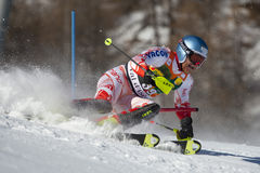 FRA: Alpine skiing Val D'Isere men's slalom Stock Photos