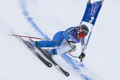 FRA: Alpine skiing Val D'Isere Super Combined Royalty Free Stock Photos