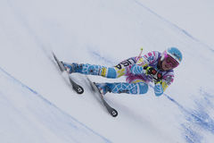 FRA: Alpine skiing Val D'Isere Super Combined Royalty Free Stock Photo