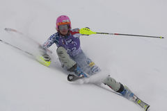 FRA: Alpine skiing Val D'Isere Super Combined Stock Image