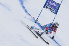 FRA: Alpine skiing Val D'Isere Super Combined Royalty Free Stock Images