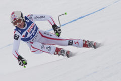FRA: Alpine skiing Val D'Isere Women DH trg1 Royalty Free Stock Photo