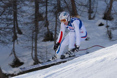 FRA: Alpine skiing Val D'Isere Women DH trg2 Stock Photography