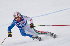 FRA: Alpine skiing Val D'Isere Women DH trg1 Stock Images